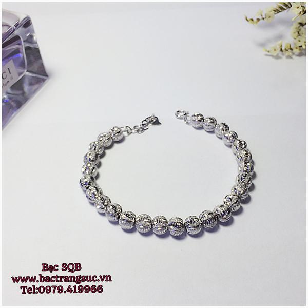 Lắc tay bạc nữ BRA-1130