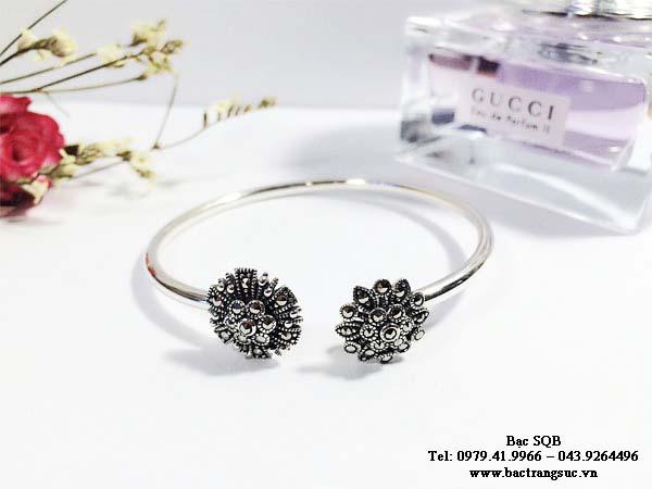Lắc tay bạc nữ BRA-1258