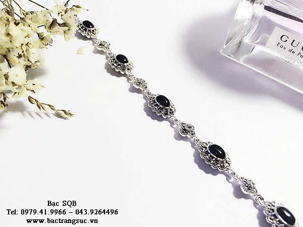 Lắc tay bạc nữ BRA-1272