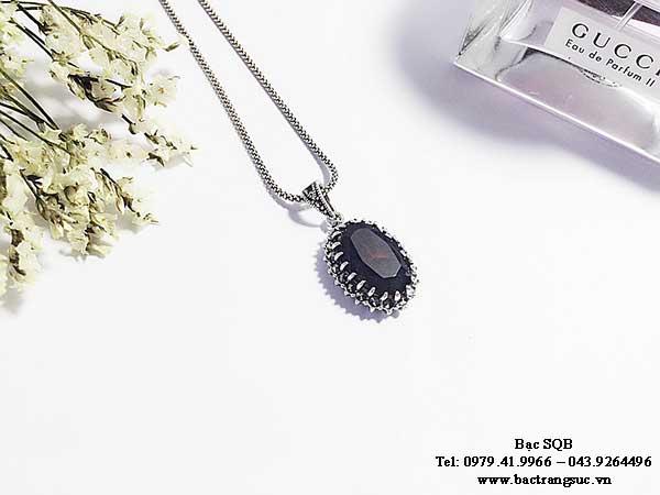Mặt dây chuyền bạc PD-1887