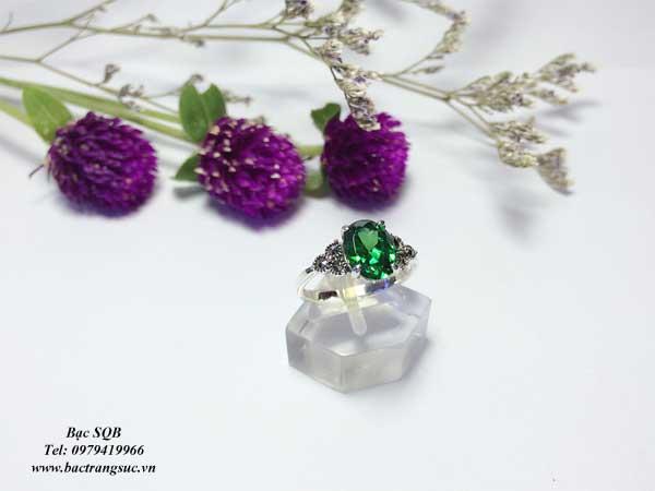 Nhẫn bạc nữ RI-2527