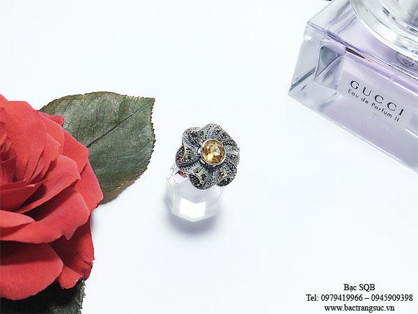Nhẫn bạc nữ RI-2735