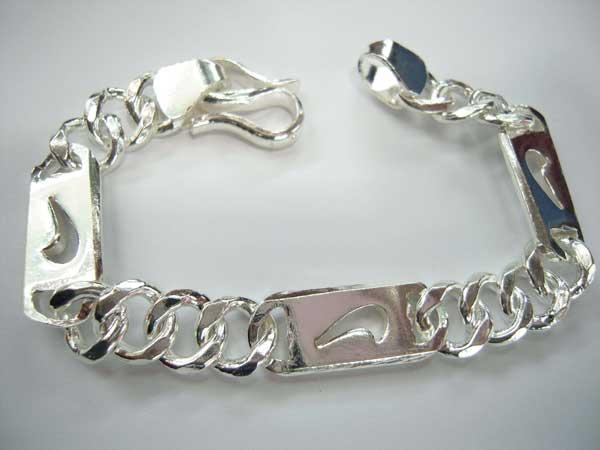 Lắc tay bạc nam BRA-510