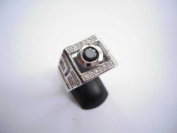 Nhẫn bạc nam RI-1543